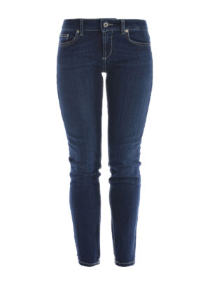 Dondup: skinny jeans - Monroe stretch jeans