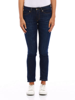 Dondup: skinny jeans online - Gaynor skinny low waisted jeans