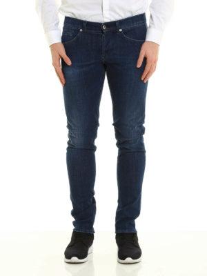 Dondup: skinny jeans online - George faded denim jeans