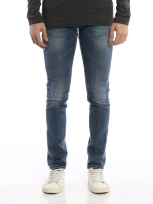 Dondup: skinny jeans online - George faded jeans