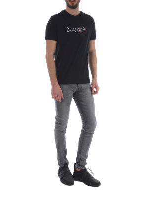 Dondup: skinny jeans online - George stone wash grey jeans