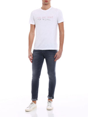 Dondup: skinny jeans online - George stone washed skinny jeans