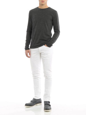 Dondup: skinny jeans online - George worn out jeans