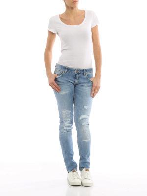 Dondup: skinny jeans online - Lambda low waist jeans