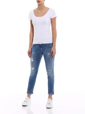 Dondup: skinny jeans online - Monroe crop jeans