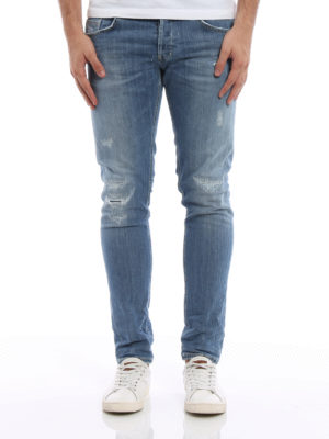 Dondup: skinny jeans online - Ritchie scraped jeans