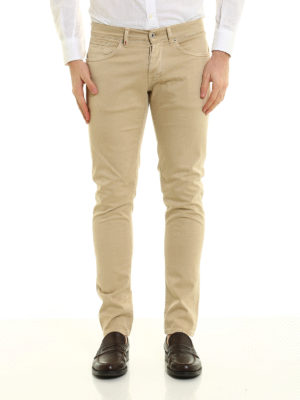 Dondup: skinny jeans online - Stretch gabardine George jeans