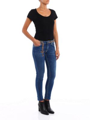 Dondup: skinny jeans online - Tara embellished skinny jeans