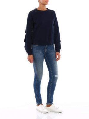 Dondup: skinny jeans online - Tara high waist jeans