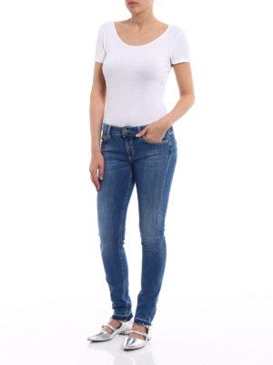 Dondup: skinny jeans online - Tara medium wash skinny jeans