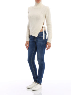 Dondup: skinny jeans online - Tara regular waist skinny jeans