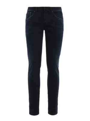 Dondup: skinny jeans - Ritchie faded denim jeans