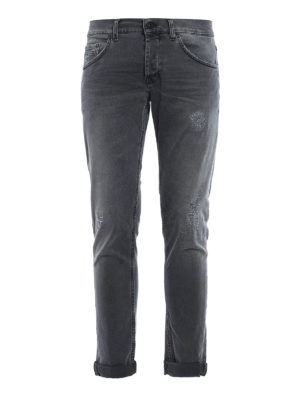 Dondup: skinny jeans - Ritchie faded jeans
