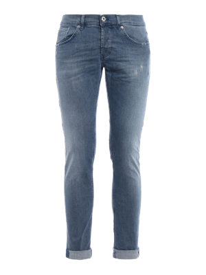 Dondup: skinny jeans - Ritchie stone washed stretch jeans