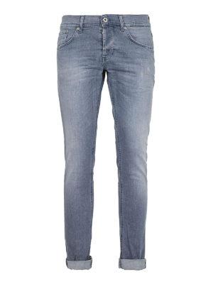 DONDUP: jeans skinny - Jeans stretch Ritchie slavati