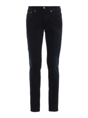 DONDUP: jeans skinny - Jeans Ritchie in denim stretch