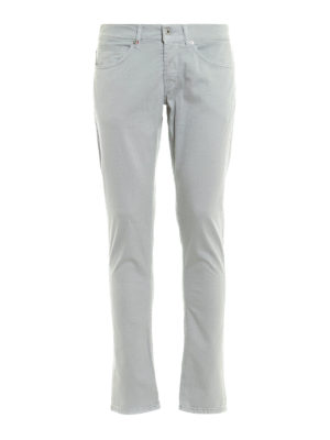 Dondup: skinny jeans - Stretch gabardine George jeans