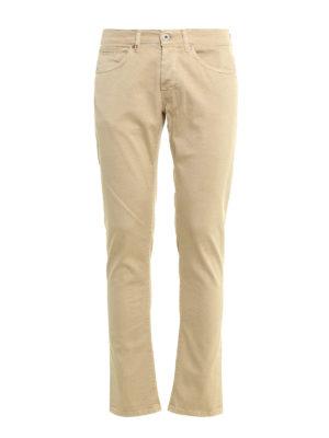 Dondup: skinny jeans - Stretch gabardine George jeans