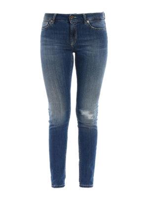Dondup: skinny jeans - Tara high waist jeans