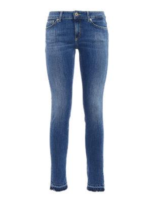 Dondup: skinny jeans - Tara medium wash skinny jeans