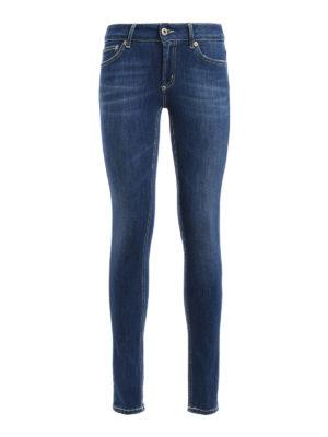 Dondup: skinny jeans - Tara regular waist skinny jeans