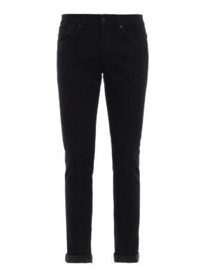 DONDUP: jeans skinny - Jeans cinque tasche George neri