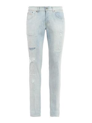 Dondup: skinny jeans - Vintage look Ritchie jeans