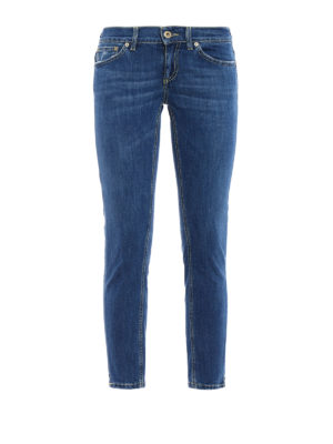 Dondup: straight leg jeans - Dia Jeans