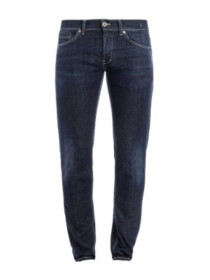 Dondup: straight leg jeans - George denim jeans