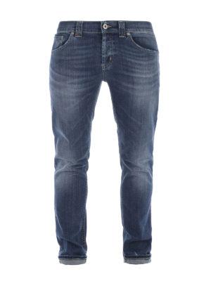 Dondup: straight leg jeans - Mius denim jeans