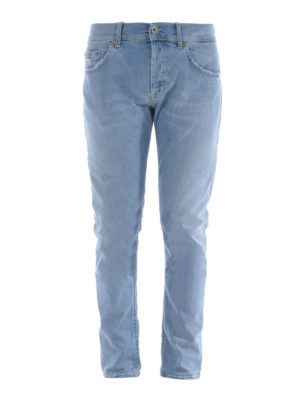 Dondup: straight leg jeans - Mius slim fit jeans