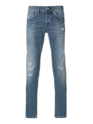 Dondup: straight leg jeans - Mius stretch jeans
