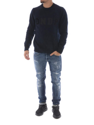 Dondup: straight leg jeans online - George stretch denim slim jeans