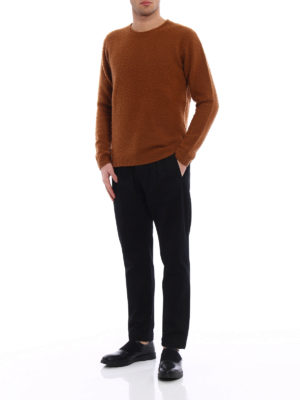 Dondup: straight leg jeans online - Iconic low crotch cotton jeans