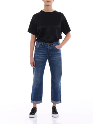 Dondup: straight leg jeans online - Iconic mom fit jeans