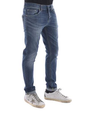 Dondup: straight leg jeans online - Mius denim jeans
