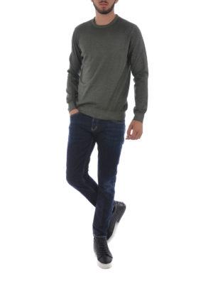 Dondup: straight leg jeans online - Mius stretch denim slim jeans