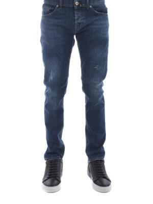 Dondup: straight leg jeans online - Mius stretch jeans