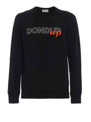 DONDUP: Felpe e maglie - Felpa in cotone con ricamo Dondup Up
