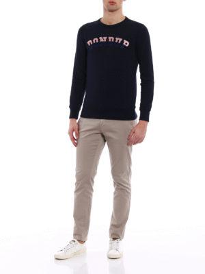Dondup: Sweatshirts & Sweaters online - Rodi embroidered logo sweatshirt
