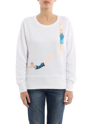 Dondup: Sweatshirts & Sweaters online - Sequin embroidered sweatshirt