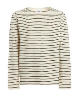 DONDUP: Sweatshirts & Sweaters - Striped cotton sweatshirt