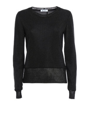 Dondup: Sweatshirts & Sweaters - Translucent top