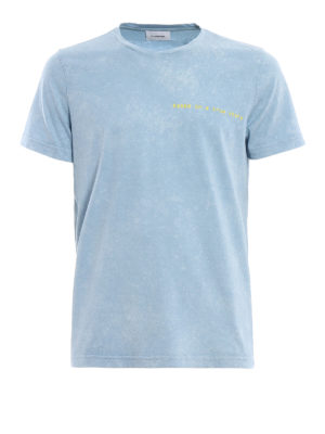 Dondup: t-shirts - Cosmin pure cotton T-shirt