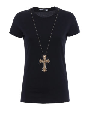 Dondup: t-shirts - Gipsy embellished Tee
