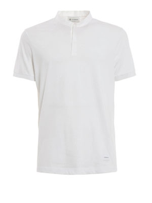 Dondup: t-shirts - Newark cotton T-shirt