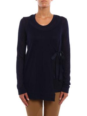 Dondup: t-shirts online - Fluorite alpaca blend T-shirt