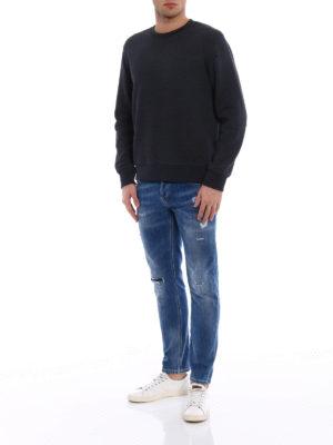 Dondup: t-shirts online - Iconic oversize cotton T-shirt