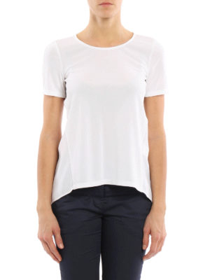 Dondup: t-shirts online - Maia open back T-shirt