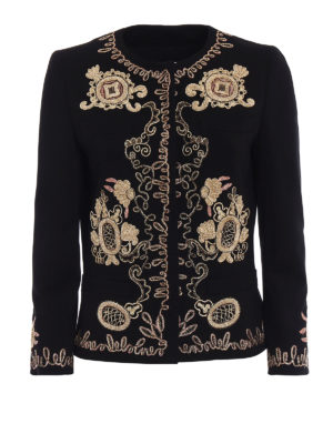 Dondup: Tailored & Dinner - Anastasya embroidered jacket